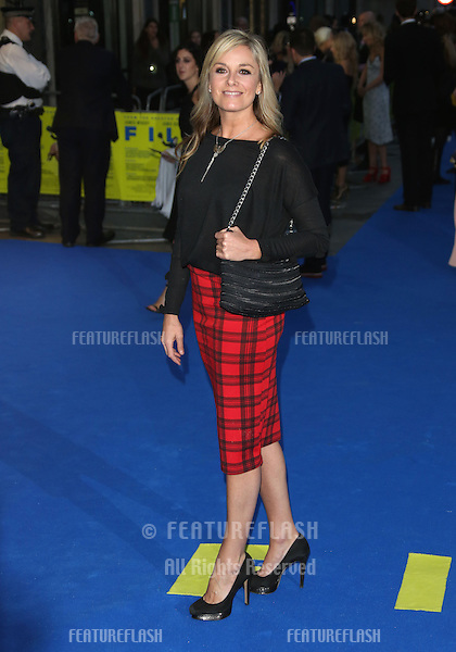 Tamzin Outhwaite arriving for the UK premiere of Filth held at the Odeon - Arrivals<br /> London. 30/09/2013 Picture by: Henry Harris / Featureflash