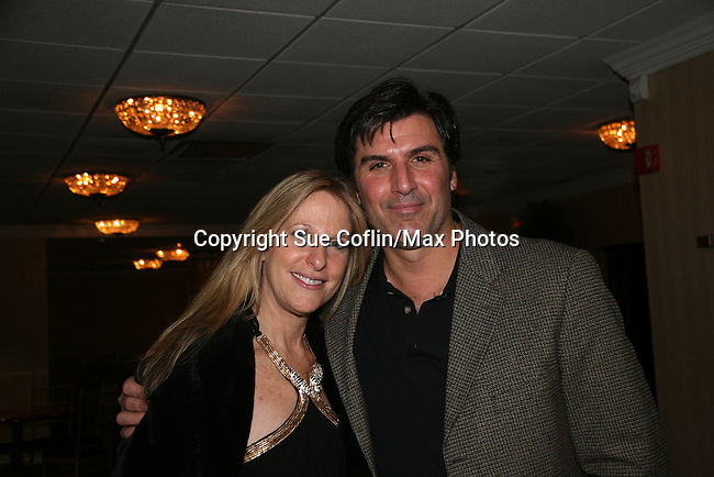 Marcia Tovsky & Vincent Irizarry at a benefit for American Lung Association on December 6, 2009 at Mezza on the Green at the Lawrence Country Club. (Photos by Sue Coflin/Max Photos)