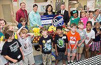 Kroger donation to Fun with Food Camp <br />  (photo by Megan Bean / &copy; Mississippi State University)