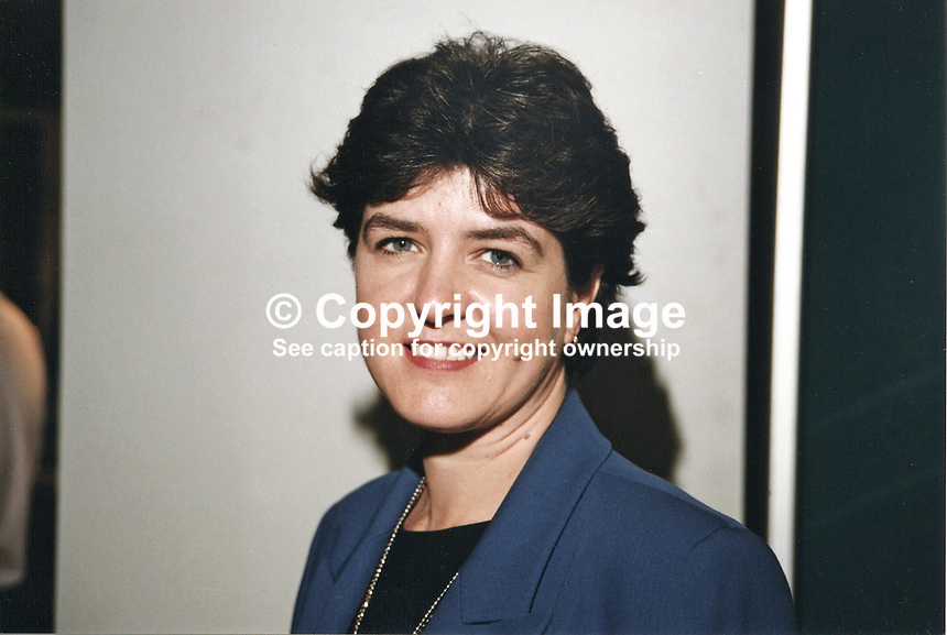 Jane Kennedy, MP, Labour Party, 19971002JK..Copyright Image from Victor Patterson, 54 Dorchester Park, Belfast, UK, BT9 6RJ..Tel: +44 28 9066 1296.Mob: +44 7802 353836.Voicemail +44 20 8816 7153.Skype: victorpattersonbelfast.Email: victorpatterson@mac.com.Email: victorpatterson@ireland.com (back-up)..IMPORTANT: If you wish to use this image or any other of my images please go to www.victorpatterson.com and click on the Terms & Conditions. Then contact me by email or phone with the reference number(s) of the image(s) concerned.