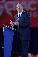 National Harbor, MD - March 3, 2016: Wayne LaPierre of the National Rifle Association addresses attendees of the 2016 Conservative Political Action Conference, hosted by the American Conservative Union, at the Gaylord National Hotel in National Harbor, MD, March 3, 2016. Each year, CPAC brings thousands of  people together to hear and interact with conservative movement leaders.   (Photo by Don Baxter/Media Images International)