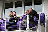 Orlando, Florida - Saturday January 13, 2018: Sigi Schmid, Kurt Schmid, and Dominic Kinnear. Match Day 1 of the 2018 adidas MLS Player Combine was held Orlando City Stadium.