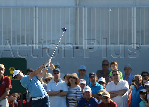 06.03.2016. Doral, Florida, USA.    Rory Mcilroy of Nothern Ireland on the 10th Tee during the final round of the World Golf Championships-Cadillac Championships - Final Round at Trump National Doral in Doral, FL