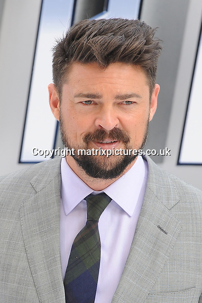 NON EXCLUSIVE PICTURE: PAUL TREADWAY / MATRIXPICTURES.CO.UK<br /> PLEASE CREDIT ALL USES<br /> <br /> WORLD RIGHTS<br /> <br /> New Zealand actor Karl Urban attending the UK Premiere of 'Star Trek Beyond' at Empire Leicester Square in London.<br /> <br /> July 12th 2016<br /> <br /> REF: PTY 162249
