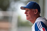 26 july 2010: Assistant coach John Haar is seen prior to France 10-2 victory over Ukraine, in day 4 of the 2010 European Championship Seniors, in Neuenburg, Germany.
