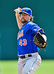 10 March 2012: New York Mets pitcher R.A. Dickey on the mound during a Spring Training game against the Washington Nationals at Space Coast Stadium in Viera, Florida. The Nationals defeated the Mets 8-2 in Grapefruit League play. Mandatory Credit: Ed Wolfstein Photo