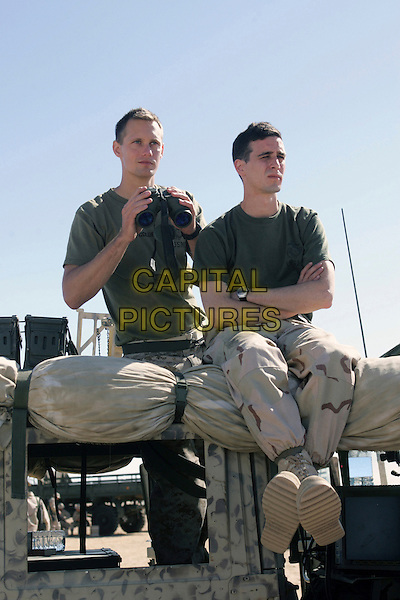 ALEXANDER SKARSGARD & JAMES RANSONE.in Generation Kill.*Filmstill - Editorial Use Only*.CAP/FB.Supplied by Capital Pictures.
