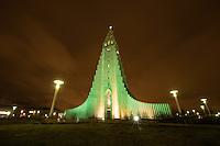 Hallgrims Church (Hallgrimskirkja) in Reykjavik. The church is the highest church in Island.<br /> Hallgrims-Kirche (Hallgrimskirkja) in Reykjavik. Die Kirche ist das groesste Kirchengebaeude Islands.<br /> 17.3.2016, Reykjavik<br /> Copyright: Christian-Ditsch.de<br /> [Inhaltsveraendernde Manipulation des Fotos nur nach ausdruecklicher Genehmigung des Fotografen. Vereinbarungen ueber Abtretung von Persoenlichkeitsrechten/Model Release der abgebildeten Person/Personen liegen nicht vor. NO MODEL RELEASE! Nur fuer Redaktionelle Zwecke. Don't publish without copyright Christian-Ditsch.de, Veroeffentlichung nur mit Fotografennennung, sowie gegen Honorar, MwSt. und Beleg. Konto: I N G - D i B a, IBAN DE58500105175400192269, BIC INGDDEFFXXX, Kontakt: post@christian-ditsch.de<br /> Bei der Bearbeitung der Dateiinformationen darf die Urheberkennzeichnung in den EXIF- und  IPTC-Daten nicht entfernt werden, diese sind in digitalen Medien nach &sect;95c UrhG rechtlich geschuetzt. Der Urhebervermerk wird gemaess &sect;13 UrhG verlangt.]