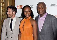 10 September 2018 - Toronto, Ontario, Canada. Casey Affleck, Tika Sumpter and Danny Glover. &quot;The Old Man &amp; The Gun&quot; Premiere - 2018 Toronto International Film Festival held at The Elgin.    <br /> CAP/ADM/BPC<br /> &copy;BPC/ADM/Capital Pictures