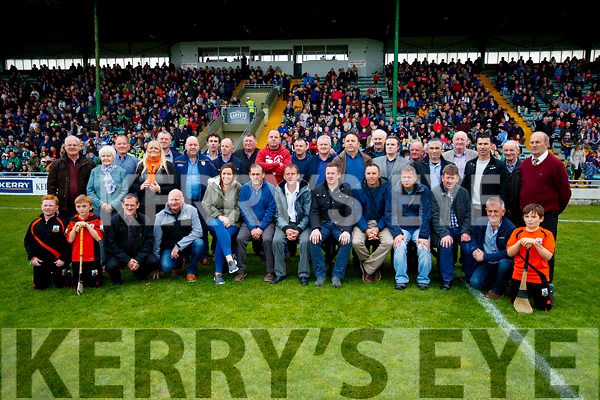 The Ballyheigue 1992 Co Champions honoured at half time of the Senior County Hurling Final in Austin Stack Park on Sunday