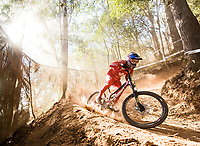 Picture by Alex Broadway/SWpix.com - 08/09/17 - Cycling - UCI 2017 Mountain Bike World Championships - Downhill - Cairns, Australia - Finn Iles of Canada in action during a practice session.