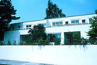 Stuttgart: Weissenhofsiedlung, semi-detached or duplex on Rathenaurstr. Josef Frank of Vienna.