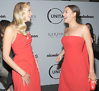 NEW YORK, NY - SEPTEMBER 12: Natasha Poly and Irina Shayk attends Unitas Third Annual Gala Against Human Trafficking at Capitale on September 12, 2017 in New York City.  <br /> CAP/MPI/JP<br /> &copy;JP/MPI/Capital Pictures