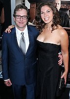 BEVERLY HILLS, CA, USA - OCTOBER 01: David Dobkin, Megan Wolpert arrive at the Los Angeles Premiere Of Warner Bros. Pictures And Village Roadshow Pictures' 'The Judge' held at the Samuel Goldwyn Theatre at The Academy of Motion Picture Arts and Sciences on October 1, 2014 in Beverly Hills, California, United States. (Photo by Xavier Collin/Celebrity Monitor)