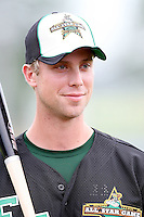 June 24, 2009: James Darnell of the Fort Wayne TinCaps at the 2009 Midwest League All Star Game at Alliant Energy Field in Clinton, IA.  Photo by: Chris Proctor/Four Seam Images