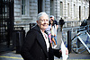Vanessa Redgrave &amp; Lord Alf Dubs deliver letter to Downing Street on lone child refugees in Calais<br /> 5th August 2016<br />  <br /> <br /> Calling for an immediate amnesty for the unaccompanied minors in Calais identified by Citizens UK as having family in the UK. <br /> <br /> <br /> Photograph by Elliott Franks <br /> Image licensed to Elliott Franks Photography Services