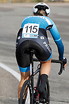 Julie Solvang (NOR) Hitec Products-Birk Sport in action during Stage 1 of the Ceratizit Madrid Challenge by La Vuelta 2019 running 9.3km individual time trial around Boadilla del Monte, Spain. 14th September 2019.<br /> Picture: Luis Angel Gomez/Photogomezsport | Cyclefile<br /> <br /> All photos usage must carry mandatory copyright credit (© Cyclefile | Luis Angel Gomez/Photogomezsport)