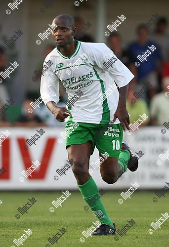 2009-08-22 / Voetbal / Cofidis Cup / Dessel Sport - OH Leuven / Mohammed Aliyu Datti..Foto: Maarten Straetemans (SMB)