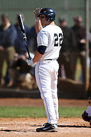 February 28, 2010:  Third Baseman Mike Olt of the University of Connecticut Huskies during the Big East/Big 10 Challenge at Raymond Naimoli Complex in St. Petersburg, FL.  Photo By Mike Janes/Four Seam Images