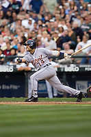 July 5, 2008:  The Detroit Tigers' Placido Polanco at-bat during a game against the Seattle Mariners at Safeco Field in Seattle, Washington.