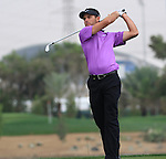 Charl Schwartzel Teeing of on the 7th on day two of the Abu Dhabi HSBC Golf Championship 2011, at the Abu Dhabi golf club, UAE. 21/1/11..Picture Fran Caffrey/www.golffile.ie.