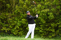 Shane Lowry (IRL) watches his tee shot on 12 during round 3 of the 2019 US Open, Pebble Beach Golf Links, Monterrey, California, USA. 6/15/2019.<br /> Picture: Golffile | Ken Murray<br /> <br /> All photo usage must carry mandatory copyright credit (© Golffile | Ken Murray)