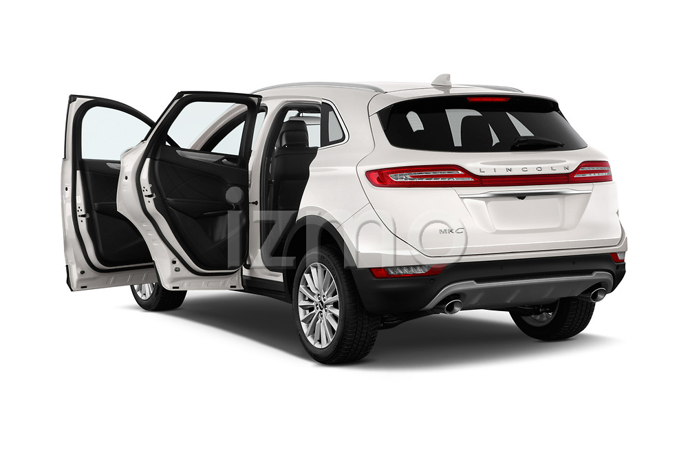 Car images close up view of a 2019 Lincoln MKC Base 5 Door SUV doors