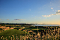 3rd tee and 17th green during Day 3 of the Boys' Home Internationals played at Royal Dornoch Golf Club, Dornoch, Sutherland, Scotland. 09/08/2018<br /> Picture: Golffile | Phil Inglis<br /> <br /> All photo usage must carry mandatory copyright credit (&copy; Golffile | Phil Inglis)