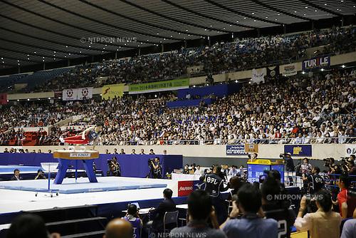 General view, JUNE 5, 2016 - Artistic Gymnastics : The 70th All Japan Artistic Gymnastics Apparatus Championship at 1st Yoyogi Gymnasium, Tokyo, Japan. (Photo by Yusuke Nakanishi/AFLO SPORT)