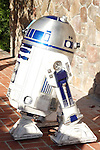 BURBANK - JUN 26: Star Wars characters, R2D2 at the 39th Annual Saturn Awards held at Castaways on June 26, 2013 in Burbank, California