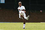 30 August 2009: North Carolina's Nikki Washington. The University of North Carolina Tar Heels defeated the University of North Carolina Greensboro Spartans 1-0 at Fetzer Field in Chapel Hill, North Carolina in an NCAA Division I Women's college soccer game.