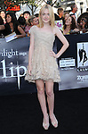Dakota Fanning at the Summit Entertainment's Premiere of The Twilight Saga : Eclipse held at the Los Angeles Film Festival at Nokia Live in Los Angeles, California on June 24,2010                                                                               © 2010 Debbie VanStory / Hollywood Press Agency