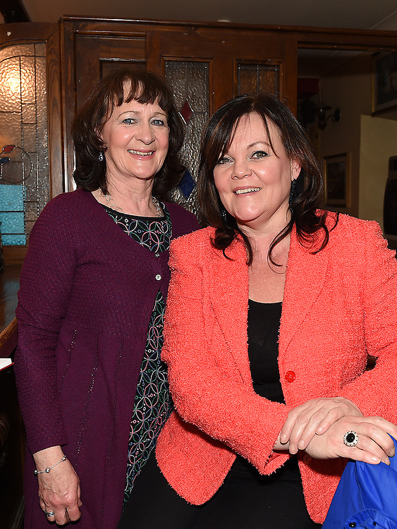 Joan Barry and Maggie Brady pictured at the Slane Spinners Cycle Club launch in The Boyne Valley Inn Slane. Photo:Colin Bell/pressphotos.ie