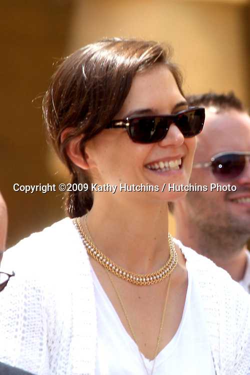 Katie Holmes  at the Cameron Diaz Star on the Hollywood Walk of Fame Ceremony  in front of the Egyptian Theater on June 22, 2009.  .©2009 Kathy Hutchins / Hutchins Photo