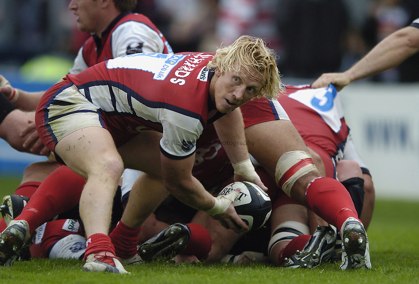 Photo: Jonathan Butler..Gloucester Rugby v Bath Rugby. Guinness Premiership. 02/09/2006..Peter Richards of Gloucester.