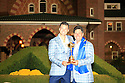 Martin Kaymer of Team Europe poses with Jose Maria Olazabal after the closing ceremony of the 39th Ryder Cup matches, Medinah Country Club, Chicago, Illinois, USA.  28-30 September 2012 (Picture Credit / Phil Inglis)