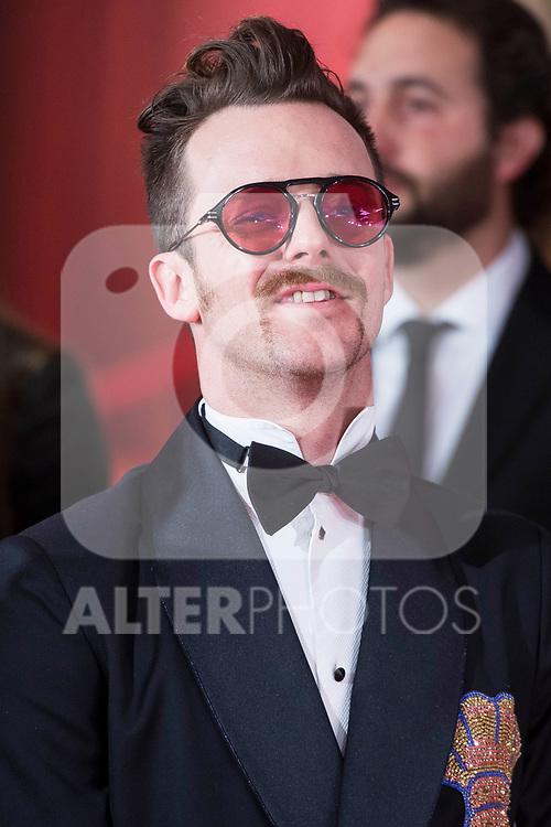 Aldo Comas attends red carpet of Goya Cinema Awards 2018 at Madrid Marriott Auditorium in Madrid , Spain. February 03, 2018. (ALTERPHOTOS/Borja B.Hojas)