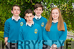 Kerry 1st year maths quiz at IT Tralee South campus on Friday. Pictured Mercy Mounthawk Tralee.Pictured l-r Tom Greaney,Eoin Walsh,Timothy Grimes and Isabella Lynch