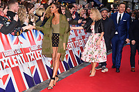 Alesha Dixon, Amanda Holden, Ant McPartlin &amp; David Walliams at the London auditions for Britain's Got Talent 2018 at the London Palladium, London, UK. <br /> 28 January  2018<br /> Picture: Steve Vas/Featureflash/SilverHub 0208 004 5359 sales@silverhubmedia.com