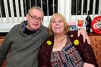 30th. Anniversary of the Miners' Strike<br /> End of Strike Social<br /> Florence Sports and Social Club<br /> Stoke on Trent<br /> Part of a season of events commemorating the 30th anniversary of the miners' strike of 1984 - 1985.<br /> Phil and Brenda Procter.