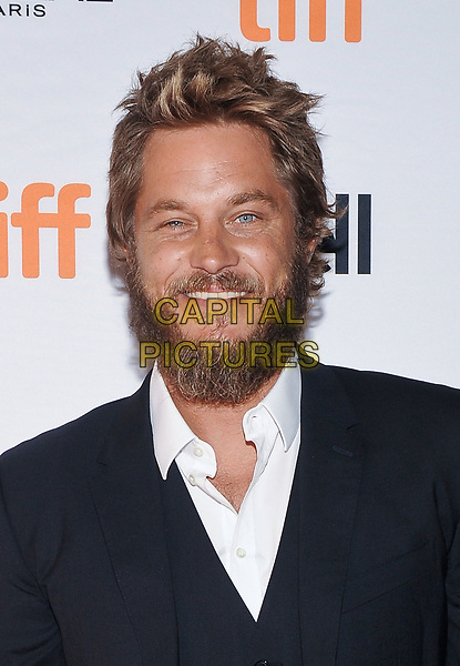 11 September 2017 - Toronto, Ontario Canada - Travis Fimmel. 2017 Toronto International Film Festival - &quot;Lean On Pete&quot; Premiere held at The Elgin. <br /> CAP/ADM/BPC<br /> &copy;BPC/ADM/Capital Pictures