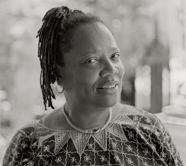 Erica Hunt, 2010.  Poet