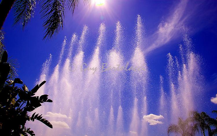 Epcot Fountains