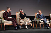"""LOS ANGELES - MAY 30: Cast members Sam Rockwell, Michelle Williams, and Norbert Leo Butz attend the FYC Event for Fox 21 TV Studios & FX's """"Fosse/Verdon"""" at the Samuel Goldwyn Theater on May 30, 2019 in Los Angeles, California. (Photo by Frank Micelotta/FX/PictureGroup)"""