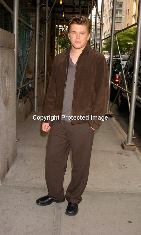 David Tom ..ouside One Life to Live on September 17, 2004. ..Photo by Robin Plater, Twin Images