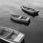 Three Rowboats