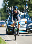 SITTARD, NETHERLANDS - AUGUST 16: Bradley Wiggins of Great Britain riding for Sky Procycling competes during stage 5 of the Eneco Tour 2013, a 13km individual time trial from Sittard to Geleen, on August 16, 2013 in Sittard, Netherlands. (Photo by Dirk Markgraf/www.265-images.com)
