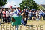 Jousting at the Ardfert Medieval Festival celebrating the feast of St Brendan on Sunday