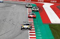12th July 2020; Spielberg, Austria;  Porsche Mobil 1 Supercup race day;  15 Jukka Honkavuori SF, MRS GT-Racing 31 Daan van Kuijk NL, GP Elite held at Spielberg Austria