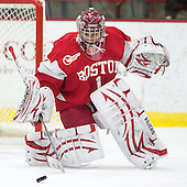 Kerrin Sperry (BU - 1) - The Harvard University Crimson defeated the visiting Boston University Terriers 3-1 on Friday, November 22, 2013, at Bright-Landry Hockey Center in Cambridge, Massachusetts.